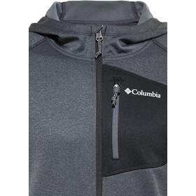 Columbia Jackson Creek II Capuchon Jas Heren, black heather